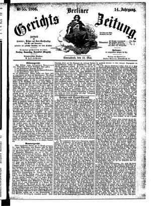 Berliner Gerichts-Zeitung on May 12, 1866