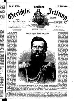 Berliner Gerichts-Zeitung on Jul 14, 1866