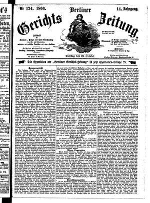 Berliner Gerichts-Zeitung vom 23.10.1866