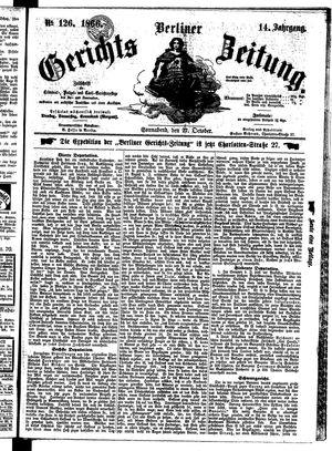 Berliner Gerichts-Zeitung on Oct 27, 1866