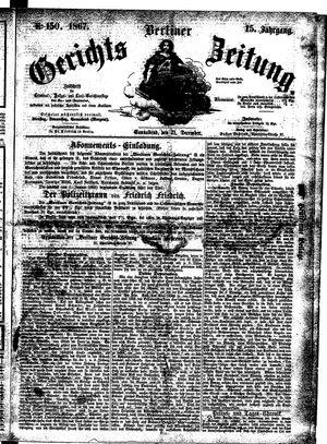 Berliner Gerichts-Zeitung vom 21.12.1867