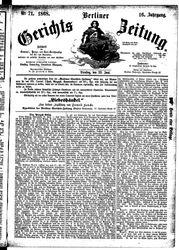 Berliner Gerichts-Zeitung (23.06.1868)