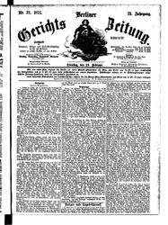 Berliner Gerichts-Zeitung (23.02.1875)