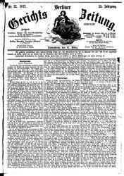 Berliner Gerichts-Zeitung (17.03.1877)