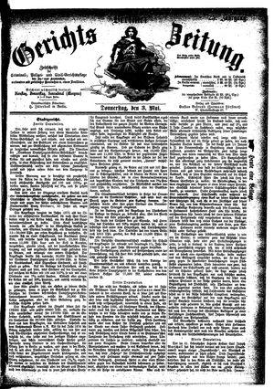 Berliner Gerichts-Zeitung on May 3, 1877