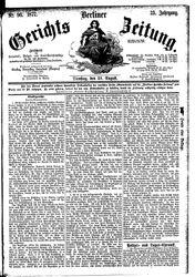 Berliner Gerichts-Zeitung (21.08.1877)