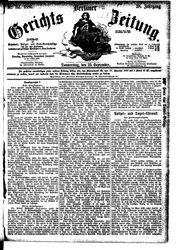 Berliner Gerichts-Zeitung (23.09.1880)