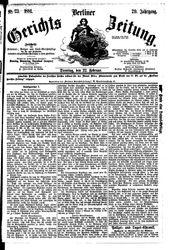Berliner Gerichts-Zeitung (22.02.1881)