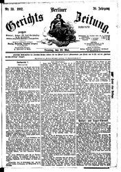 Berliner Gerichts-Zeitung (23.05.1882)