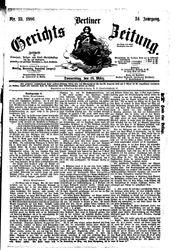 Berliner Gerichts-Zeitung (18.03.1886)