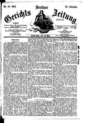 Berliner Gerichts-Zeitung vom 13.05.1886