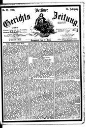 Berliner Gerichts-Zeitung (17.03.1888)