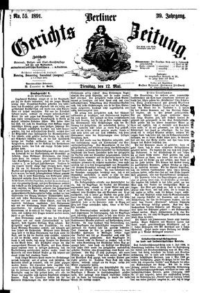 Berliner Gerichts-Zeitung vom 12.05.1891