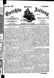 Berliner Gerichts-Zeitung