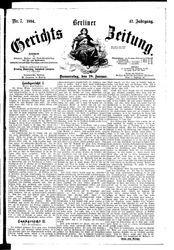 Berliner Gerichts-Zeitung (18.01.1894)