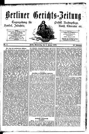 Berliner Gerichts-Zeitung vom 06.01.1898