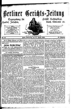 Berliner Gerichts-Zeitung vom 20.01.1898