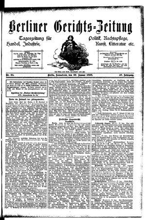 Berliner Gerichts-Zeitung vom 29.01.1898