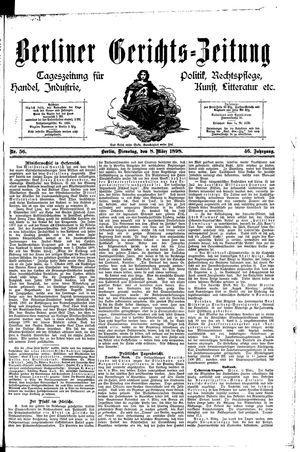 Berliner Gerichts-Zeitung vom 08.03.1898