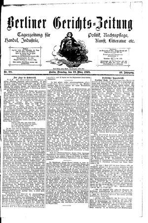 Berliner Gerichts-Zeitung vom 22.03.1898
