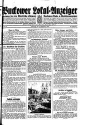 Buckower Lokal-Anzeiger