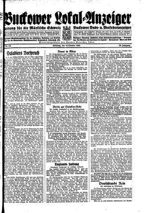 Buckower Lokal-Anzeiger vom 10.10.1933
