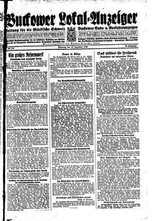 Buckower Lokal-Anzeiger vom 19.12.1933