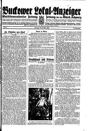 Buckower Lokal-Anzeiger vom 29.05.1934