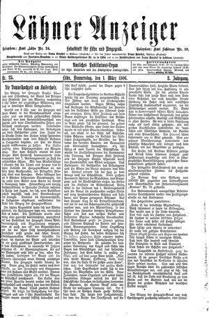 Lähner Anzeiger on Mar 1, 1906