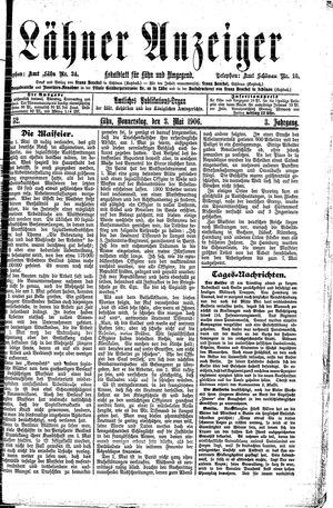 Lähner Anzeiger vom 03.05.1906