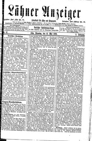 Lähner Anzeiger on May 15, 1906