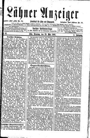Lähner Anzeiger vom 29.05.1906