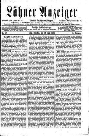 Lähner Anzeiger on Jun 12, 1906