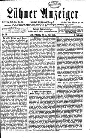 Lähner Anzeiger on Jul 3, 1906