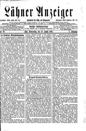 Lähner Anzeiger vom 16.08.1906