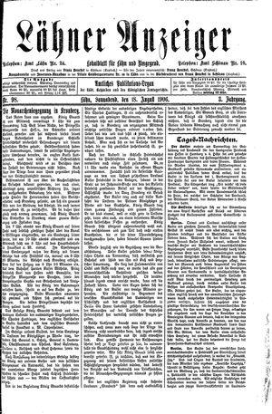 Lähner Anzeiger vom 18.08.1906