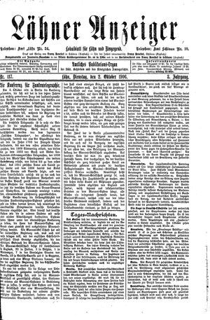 Lähner Anzeiger vom 02.10.1906