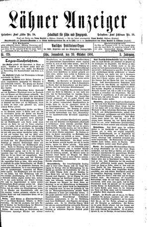 Lähner Anzeiger vom 20.10.1906