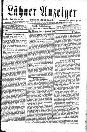 Lähner Anzeiger vom 04.12.1906