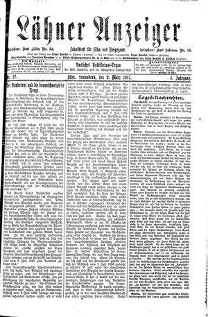 Lähner Anzeiger vom 02.03.1907