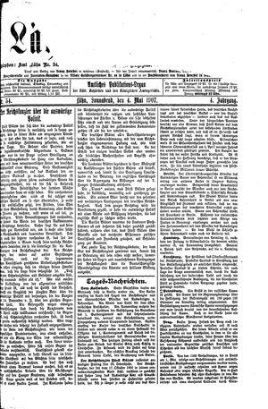Lähner Anzeiger vom 04.05.1907