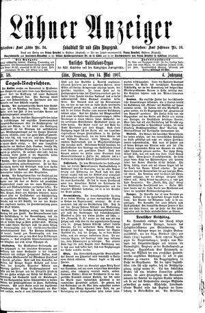 Lähner Anzeiger vom 14.05.1907