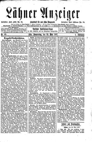 Lähner Anzeiger on May 23, 1907
