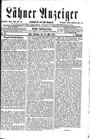 Lähner Anzeiger vom 28.05.1907