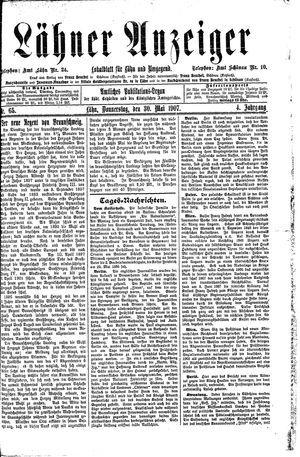 Lähner Anzeiger vom 30.05.1907