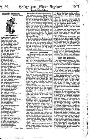 Lähner Anzeiger vom 08.06.1907