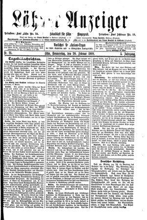 Lähner Anzeiger vom 20.02.1908