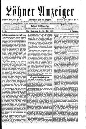 Lähner Anzeiger on Mar 26, 1908