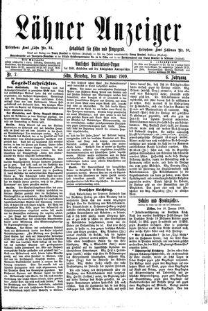 Lähner Anzeiger on Jan 19, 1909