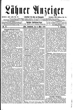 Lähner Anzeiger vom 06.03.1909